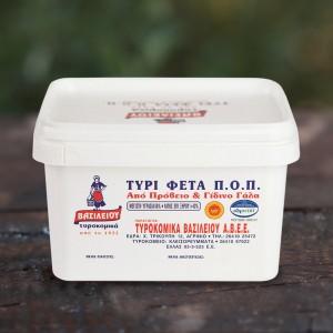 Τυρί Φέτα Π.Ο.Π. Βασιλείου 1kg